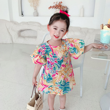 Summer 1 2 3 4 5 6 year baby birthday girl's clothes kids princess party dresses dress for toddler girls children clothing dress
