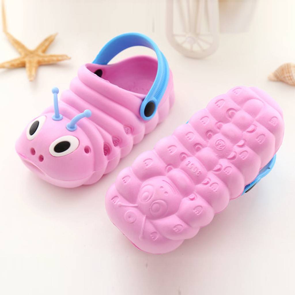 Children's Cute Caterpillar Slippers 5