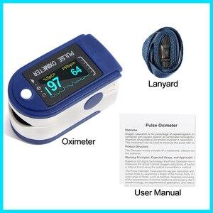 Image 5 - RZ الإصبع نبض مقياس التأكسج أوكسيمترو الدم الأكسجين التشبع متر إصبع SPO2 PR رصد نبض مقياس التأكسج