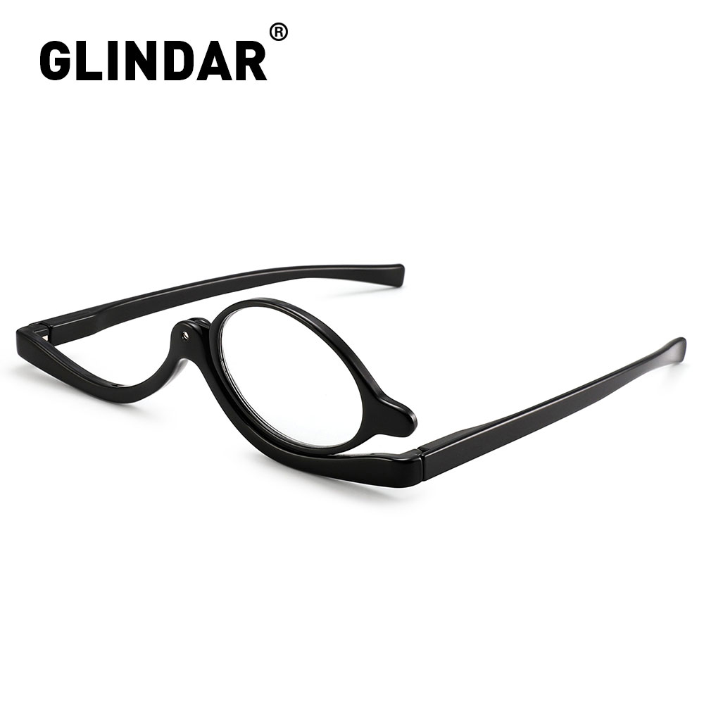 Makeup Reading Glasses Magnifying Flip Down Cosmetic Readers for Women +4.0|Women