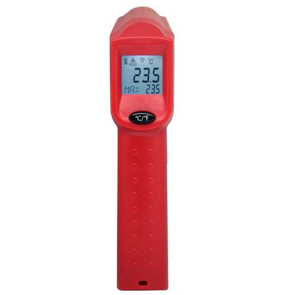 Termometr na podczerwień bezdotykowy miernik temperatury pistolet ręczny cyfrowy LCD Laser przemysłowy pirometr termometr na podczerwień-50 〜 550 ° c