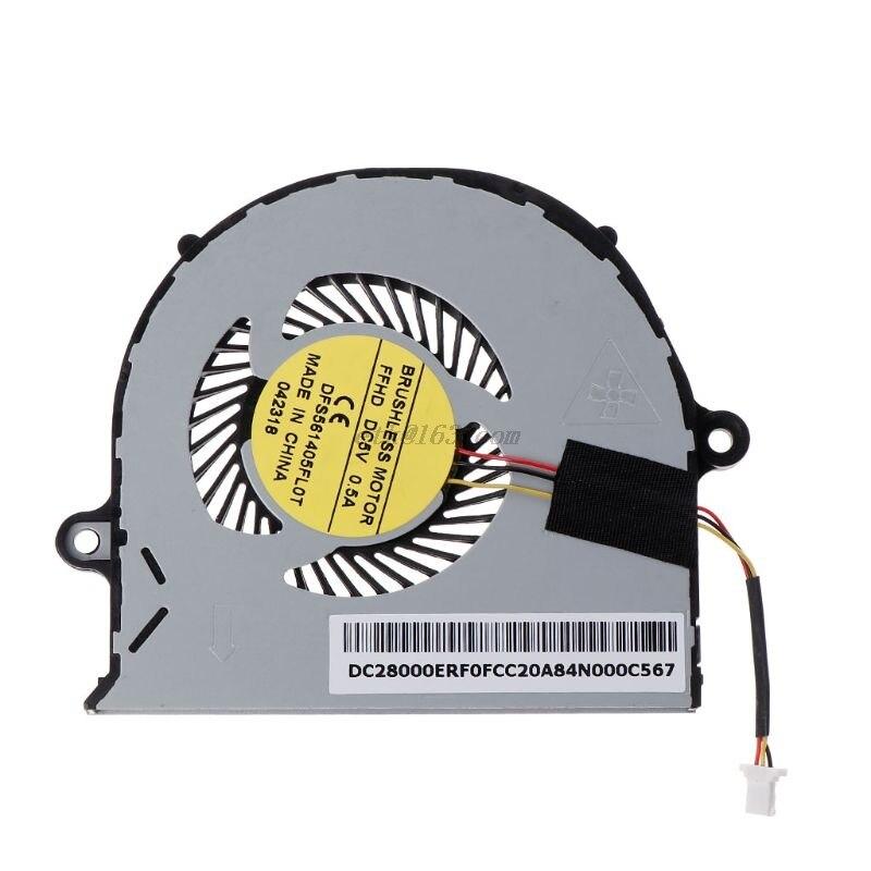 Ventilador de refrigeração da cpu para computador portátil, cooler para asus aspior E5-571G E5-571 E5-552 E5-471 E5-471G E5-473 E5-473G