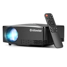 A80 Smart Projector 2800 Lumen 1280*720 LCD Display Player 15 Degree Keystone Co