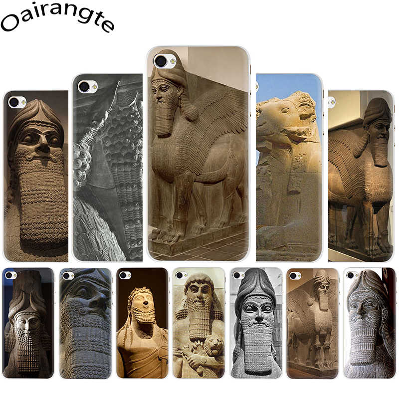 Lamassu Assyrian Mesopotamian Hard phone cover case for iphone 5 5s 5C SE 6 6s 7 8 Plus X XR XS 11 pro Max