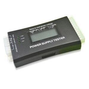 Проверьте быстрый цифровой ЖК-дисплей Блок питания Тестер компьютера 20/24 Pin блок питания Тестер поддержка 4/8/24/ATX 20 Pin Интерфейс