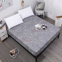 Dreamworld 100% poliéster impreso sábana caliente venta ropa de cama con banda de goma almohadilla protectora suave
