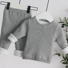 Ensemble de vêtements pour bébé fille, chemise à manches longues + pantalon, tenue de Sport pour enfant et adolescent, collection printemps-automne