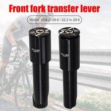 Adaptateur de tige de guidon de vélo en alliage d'aluminium, 22.2mm/20.8mm à 28.6mm, 1 1/8 pouces, accessoires de bicyclette