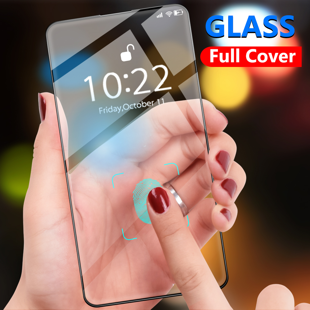Tempered Glass Silk-printed Screen Protector For Samsung Galaxy A50 A51 A71 A70 A40 S10e A10 For Samsung Galaxy  A51 A71 A70 A50