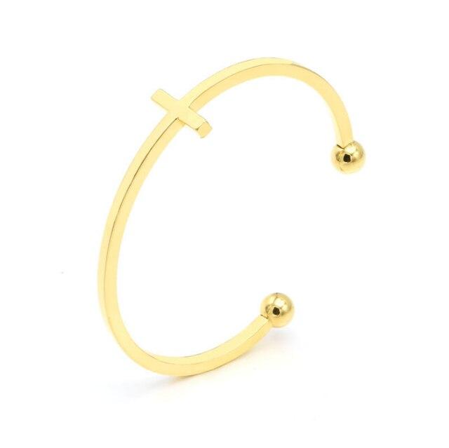Fashion Cross Bangle Bracelets  2
