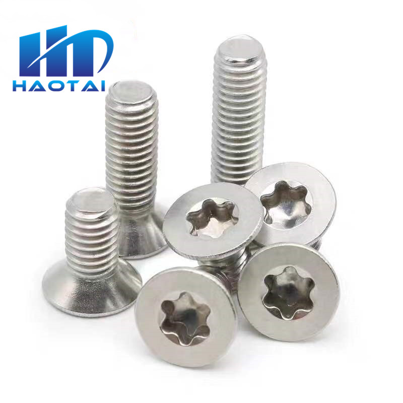 Titanium Screw M8 X 16-45 MM Pan Head Iso 7380 Grade 5 Torx