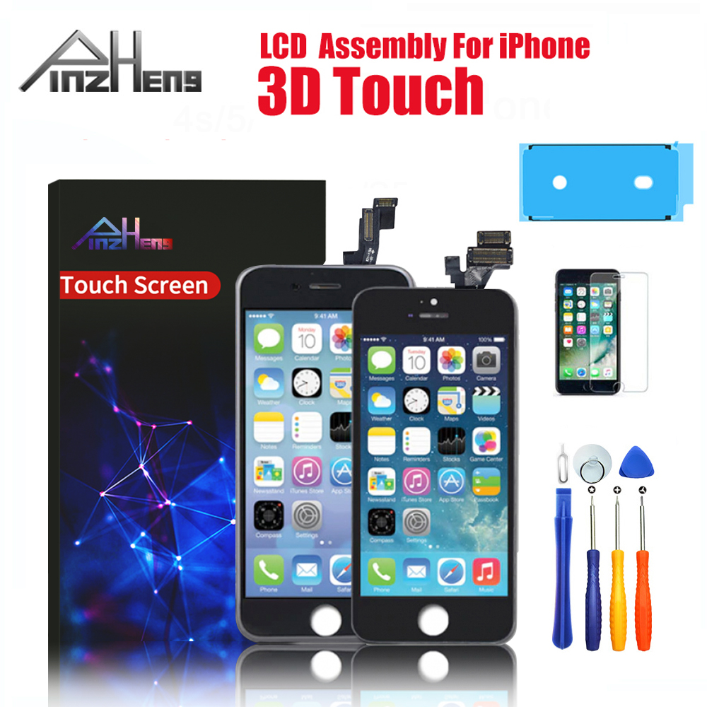 AAAA Display LCD For iPhone 6 6S 7 8 Plus Touch Screen Replacement Digitizer Assembly Display For iPhone 4S 5 5S SE LCD Screen(China)