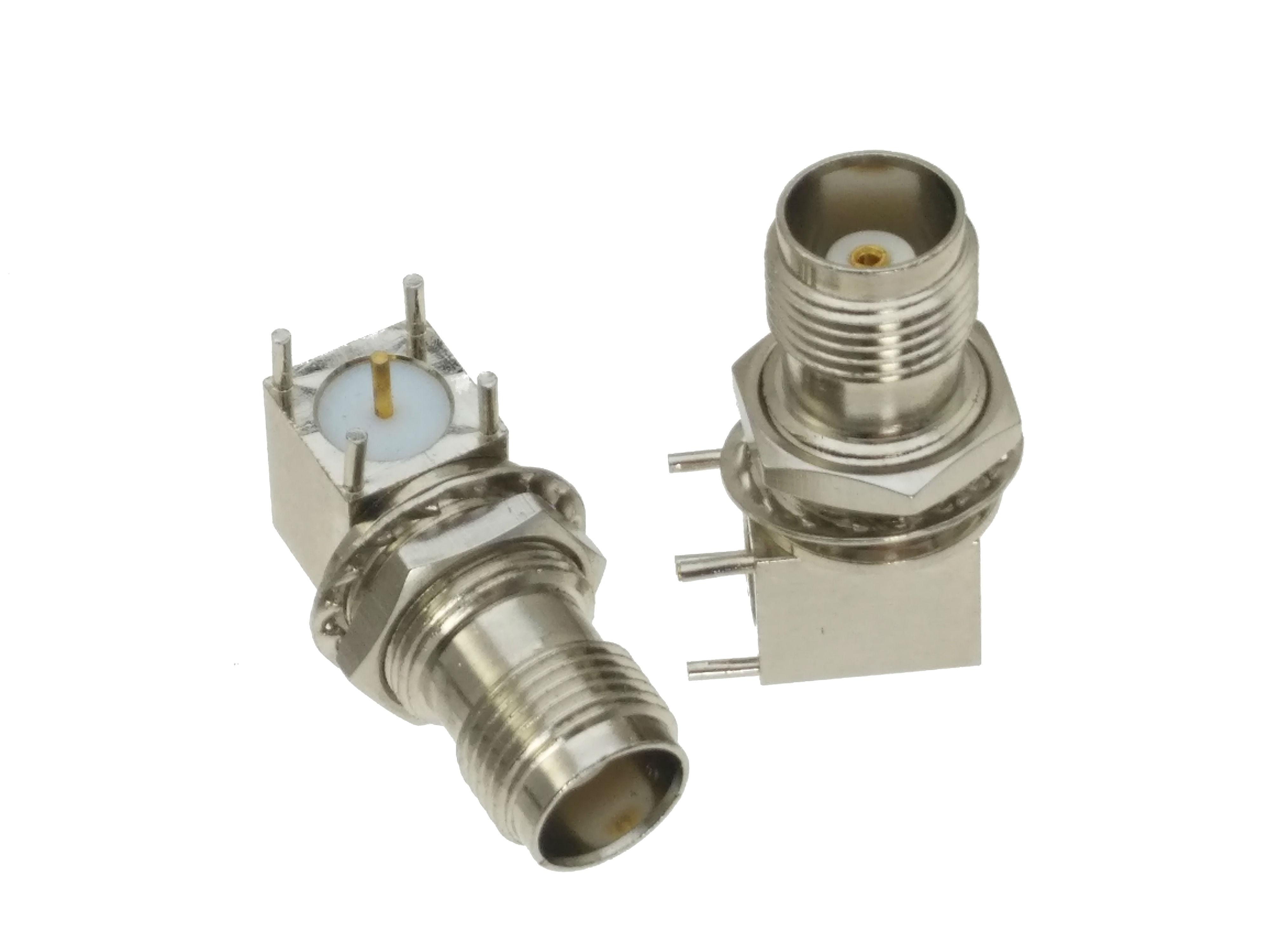 1pce F TV Female Jack Bulkhead Handle Solder panel mount RF Coax Connector