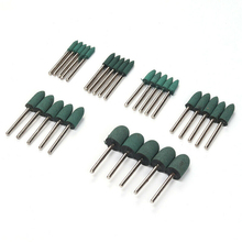 30pcs Rubber Grinding Head Polishing Burr Bit Cylinder Derusting Rotary Tools Heads New Arrival