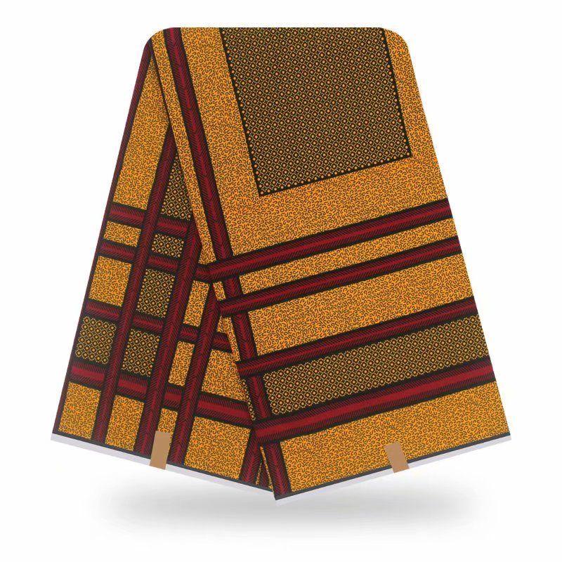Wax African Wax Tissus 100% Cotton Hot Sale African Fabric Ankara 2020 High Quality Wax Tissus 6 Yard