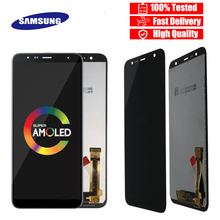 Original 6.0 LCD สำหรับ Samsung Galaxy J6 + J610 J610F J610FN จอแสดงผล LCD สำหรับ Samsung J6 Plus จอแสดงผลหน้าจอ