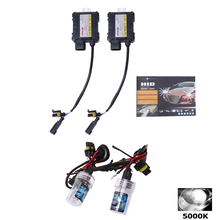 2pcs 5000k/6000k/10000k H8/H9/H11 HID Xenon Headlight Conversion Bulbs Kit 55W