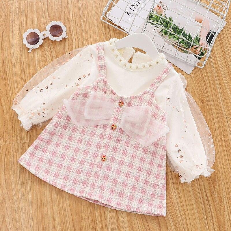 Primavera recém-nascido 1st roupas da menina do bebê um ano de aniversário vestido de princesa trajes para bebê meninas roupas bebês vestidos de festa vestido