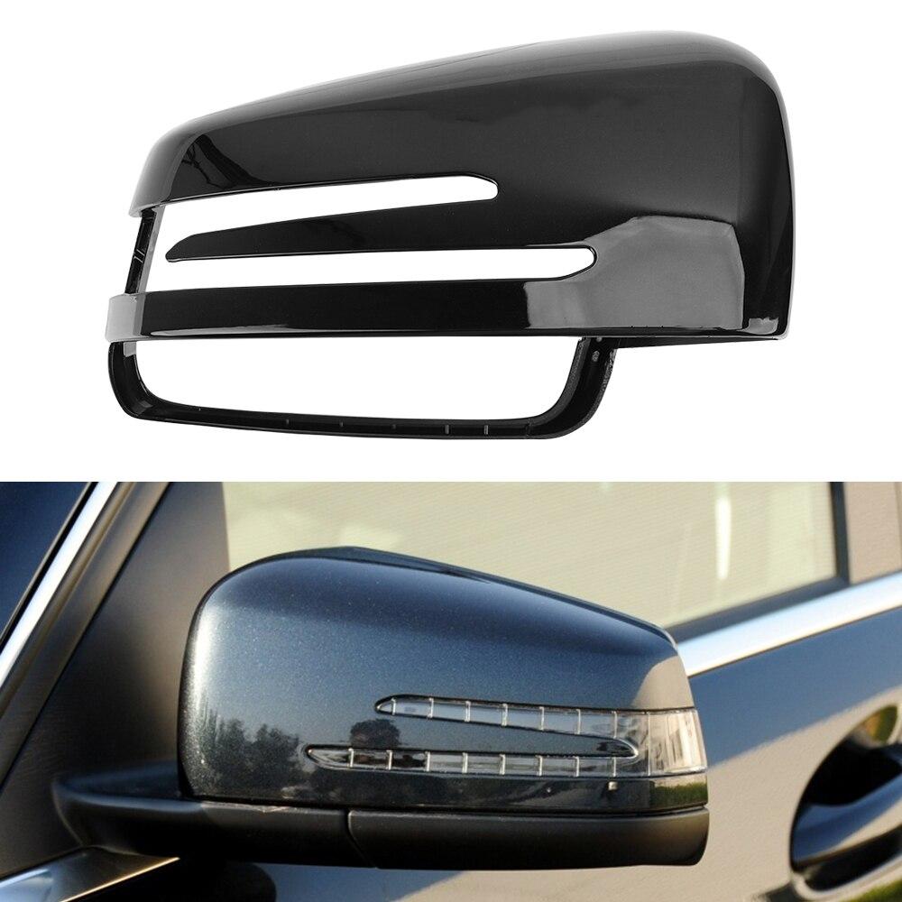 Влево/Вправо зеркало заднего хода автомобиля Корпус крышки крыло крышка зеркала заднего вида для Mercedes-Benz C-Class W176 W246 W204 W212 W221 CL