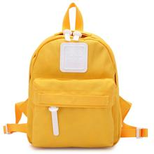 Mini Shoulder Bag Kids Candy Color Backpack for Teenage Girl Small Bagpack Female Ladies School Backpack Yellow Feminina Mochila