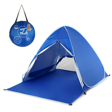 Automatic Instant Pop Up Beach Tent Lightweight UV Protection Sun Shelter Cabana