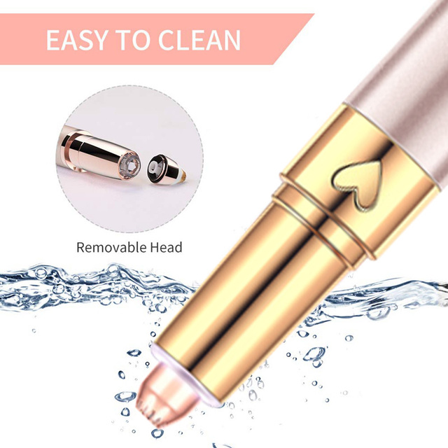 New Eyebrow Razor for Women and Men Electric USB Eyebrow Shaver Trimmer Rechargeable Portable Painless Razor Lady Epilator 2