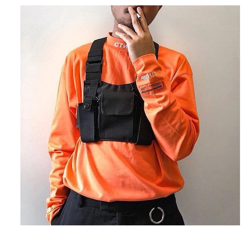 H01d0cb74b12b4e8dbcb8bbbb62d03b6bX - Chest-Rig Bag Hip-Hop Streetwear Waist Bag Adjustable Men Tactical Chest Bags Fanny Pack Men Streetwear Kanye Waistcoat Male