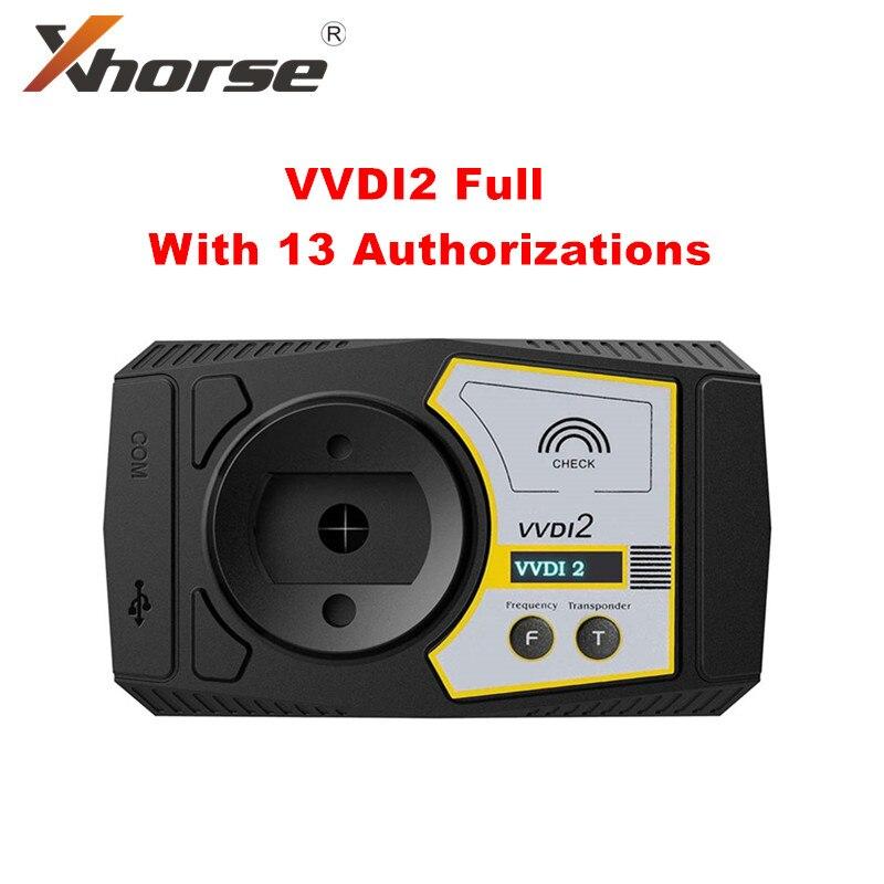 Полная версия программатора ключей командира Xhorse V6.8.2 vvvdi2 с 13 настройками