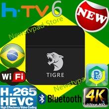 цена на ai tak pro 1 brasil TIGRE2 Tigre box HTV6+ iptv HTV box Brazilian Portuguese TV Internet Streaming box Live Filmes On Demand TV