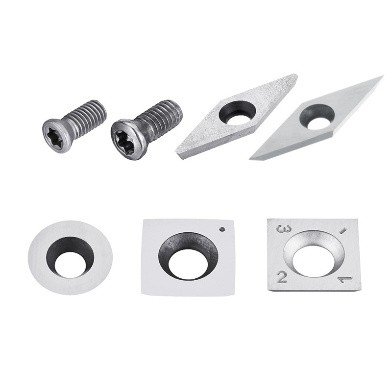 Wood Carbide Insert Milling Cutter Torx Screws For Wood Turning Tool Woodworking