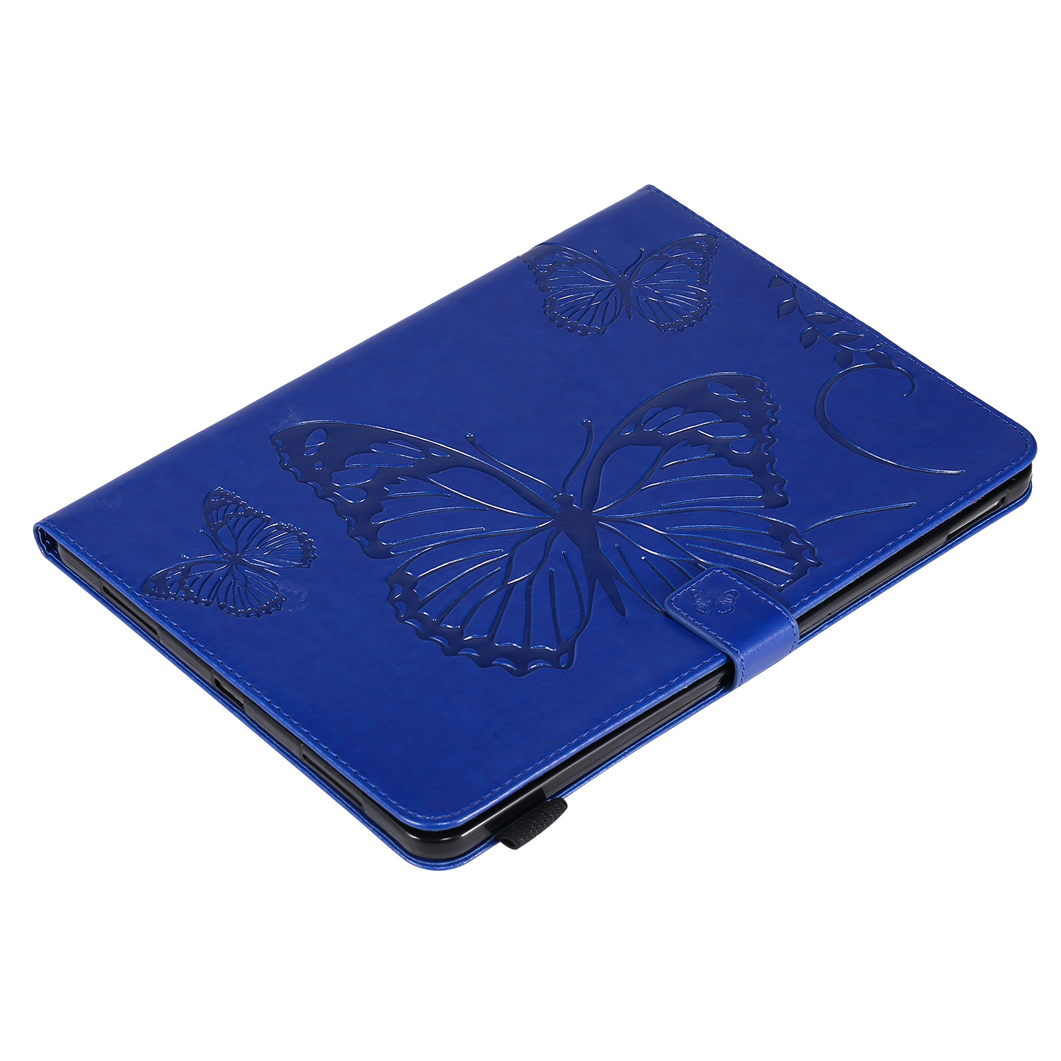 8 Beige Butterfly Tablet Fundas For iPad Pro 12 9 Case 2020 2018 Folding Folio Embossed Cover For