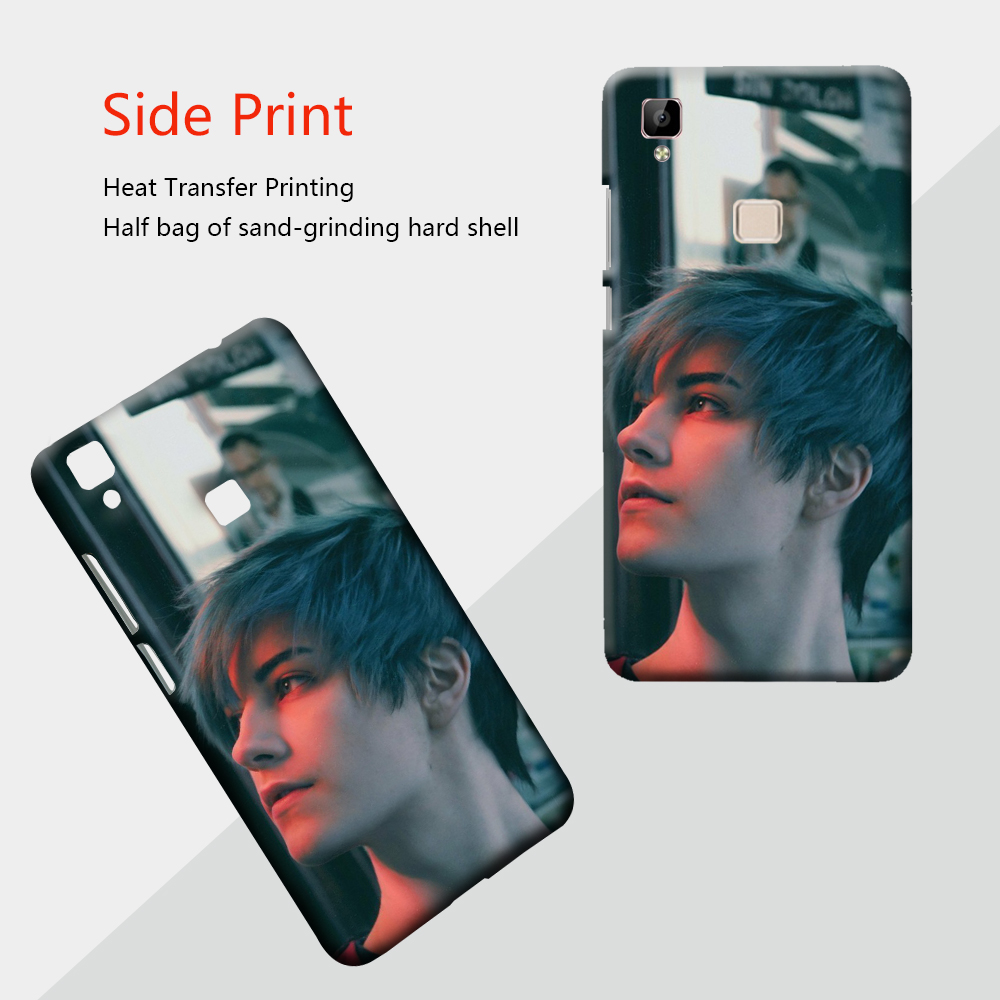 Custom phone <font><b>case</b></font> for <font><b>VIVO</b></font> X6 X7 X9 Y66 Y67 <font><b>Y69</b></font> <font><b>3D</b></font> thermal transfer phone <font><b>case</b></font> image