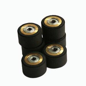 Image 1 - 10pcs Pinch Roller Roland Mimaki GCC Liyu Graphtec Inkjet Printer Vinyl Cutter Cutting Plotter Roll 5x11x16mm Rubber Copper Core