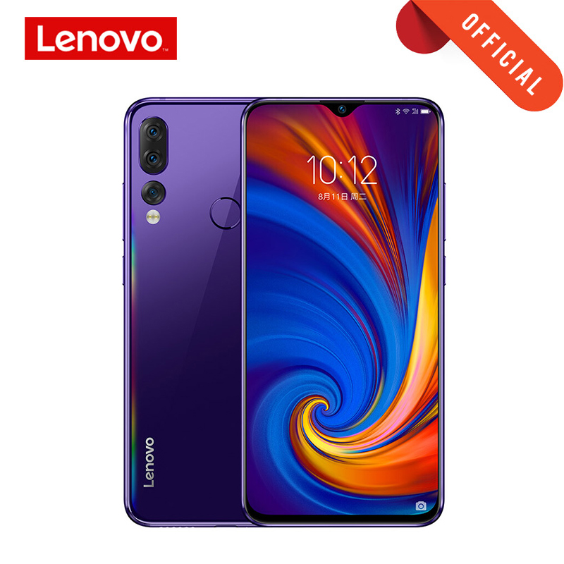 Lenovo Z5S 6GB 64GB 128GB With Gift 6.3 Inch Smartphone Z5 S Triple Rear Camera Cellphone Snapdragon 710 Android P Global ROM