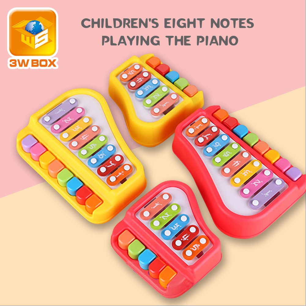 Colorful Children\'S Musical Instruments Toy Frame Xylophone Baby Educational Developmental Baby Toys Gifts Musical Instruments