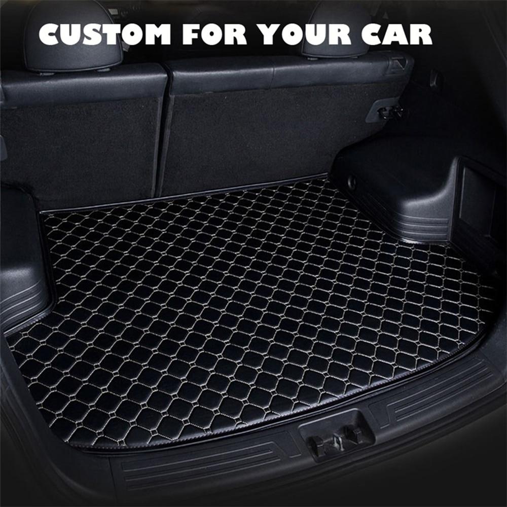SJ Custom Waterdichte Kofferbak Mat AUTO Tail Boot Lade Liner Cargo Pad Protector Fit Voor Mercedes-Benz GLE sport 2015 16 17 2018