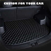 SJ Custom Waterproof Car Trunk Mat AUTO Tail Boot Tray Liner Cargo Carpet Pad Protector Fit For Kia Sportage R 2011 12-2018 2019