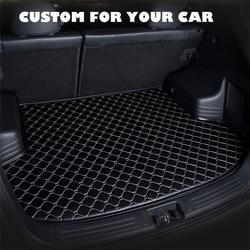 SJ изготовленный на заказ водонепроницаемый коврик для багажника автомобиля, поднос для багажника, поднос для багажника, защитная накладка ...