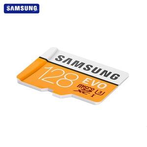 Image 4 - SAMSUNG tarjeta de memoria Micro SD EVO de 32GB, 64GB, Clase 10, 128GB, Max 100, MB/s, SDHC, SDXC, U3, UHS I, TF, 4K, HD, para Smartphone, tableta y PC