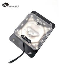 цена на Bykski CPU Water Block use for AMD RYZEN3000 AM3/AM3+/AM4 X570 Motherboard Socket RGB support 5V 3PIN GND Header to Motherboard