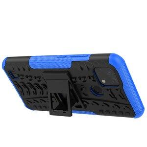 Image 3 - Voor Realme C21 Case Cover Voor Realme C21 Cover Coque Shockproof Armor Beschermende Telefoon Bumper Voor Realme C21