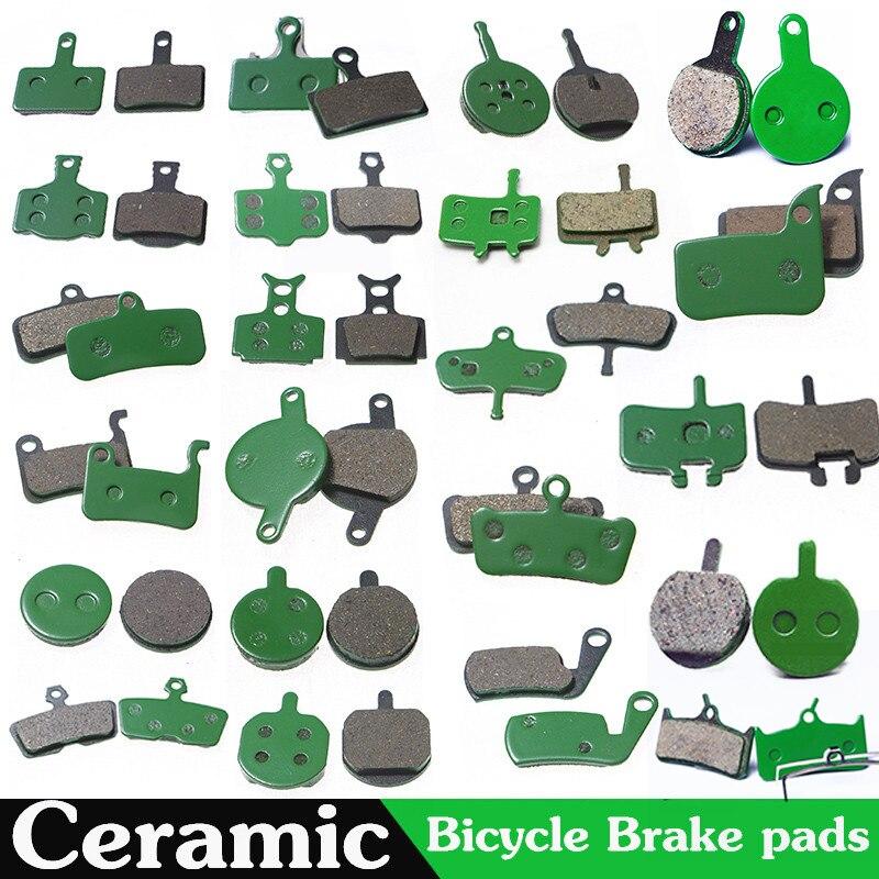 4 زوج (8 قطعة) دراجة الجبلية الصحن الهيدروليكي السيراميك الفرامل منصات ل SHIMANO SRAM متعطشا هايز ماغورا صيغة الدراجات الدراجة جزء