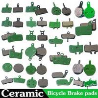4 pares (8 uds) MTB bicicleta disco hidráulico de cerámica de almohadillas para SHIMANO SRAM AVID HAYES Magura ciclismo bicicleta accesorios