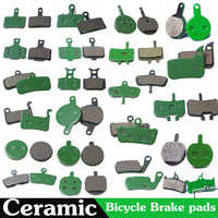 4 Pair (8pcs) MTB Bicycle Hydraulic Disc Ceramics Brake Pads For SHIMANO SRAM AVID HAYES TEKTRO Magura Formula Cycling Bike Part