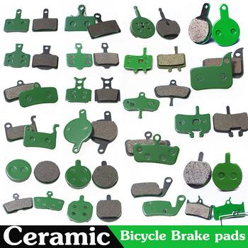 Para ceramika rower rower zacisk hamulca tarczowego klocki ogólne styl MTB Mountain hamulec rowerowy klocki dla SHIMANO ZOOM FORMULA M446 tanie i dobre opinie SOOCENT other Free Pads