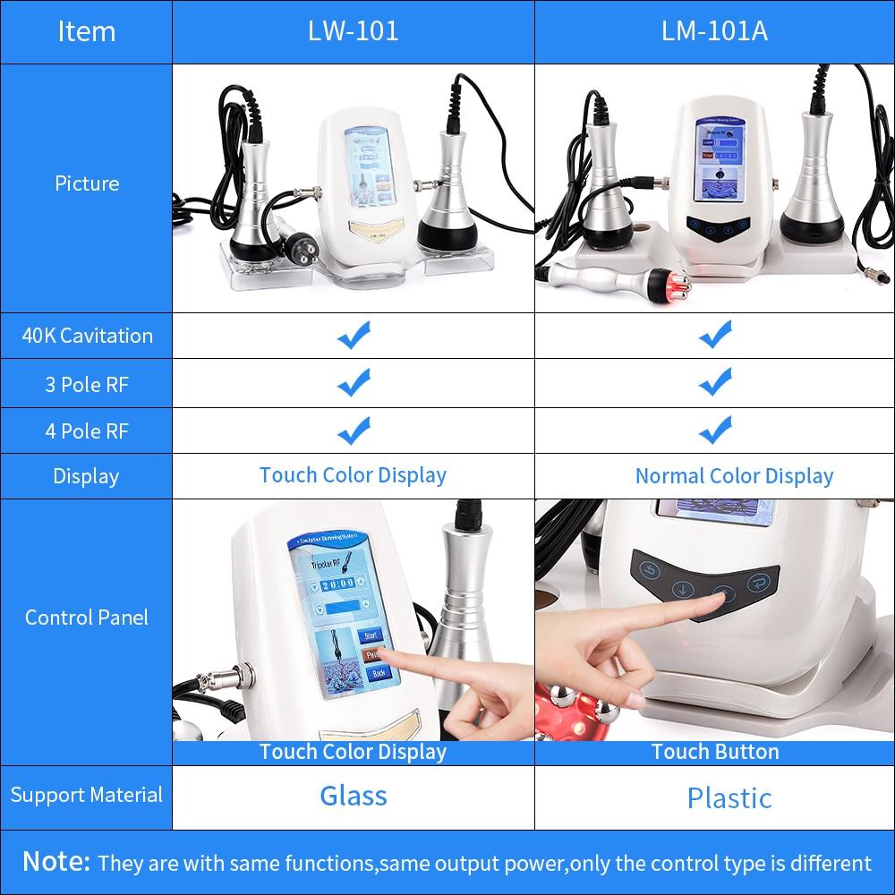 Image 5 - 3 In 1 Cavitation Ultrasonic Body Slimming Machine Professional RF Radio Frequency Loss Weight Skin Tightening Beauty InstrumentBody shaping Massage Equipment   -