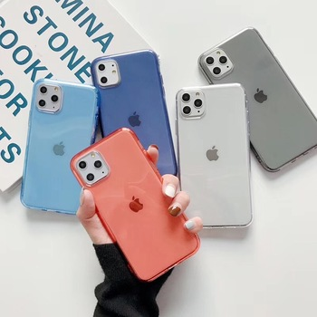 Case for Iphone X original Luxury TPU Shockproof Silicone 360 for Iphone 11 Pro XR XS MAX 6 6s 7 8 Plus Cases Cover Mobile Phone image