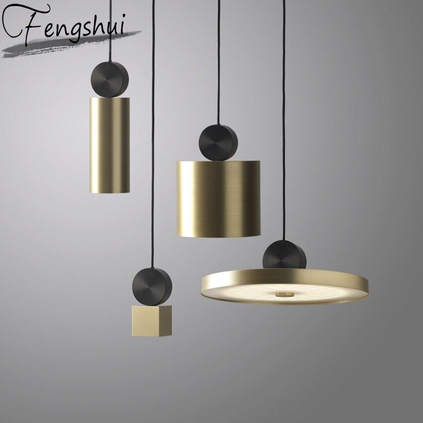 Nordique moderne LED lampe à main salon couloir Restaurant Luminaire Suspendu lampes suspendues Bar café modèle chambre lampes suspendues