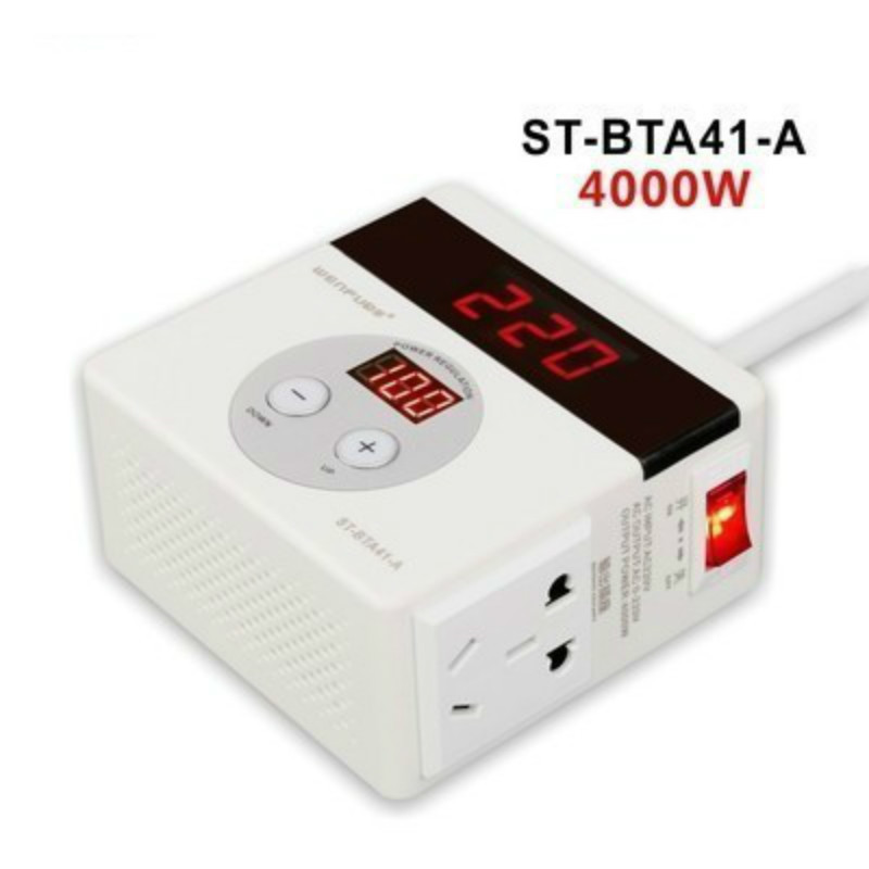 4000W transformer high power inverter variable fan power limit and anti-jump speed controller 220V 18A