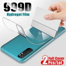 2Pcs Zurück Hydrogel Film Für Xiaomi Redmi Hinweis 9 Pro Max 8 7 6 5 Pro K20 Screen Protector xiaomi mi Hinweis 10 Lite 9 8 A3 Keine Glas